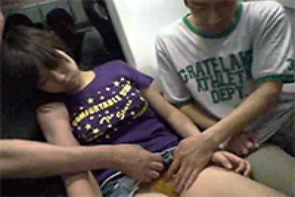 Japanese Girl Made Mistake By Falling Asleep In Train -1037
