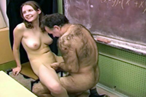 Girl fucks teacher for — 8