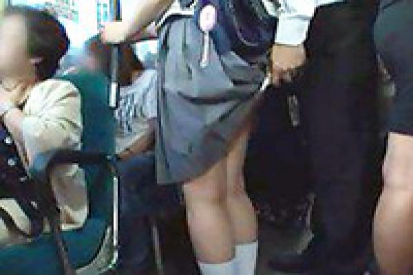 Asian Schoolgirl Groped In Public Bus On Her Way To Home -6877