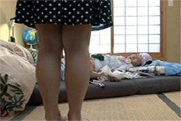 Peeping sleeping babe milf nude masturbate