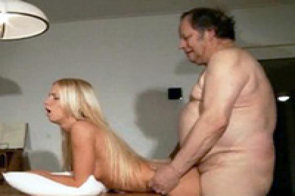Erotic bakery old man