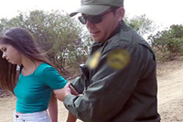 Girl fucking border patrol