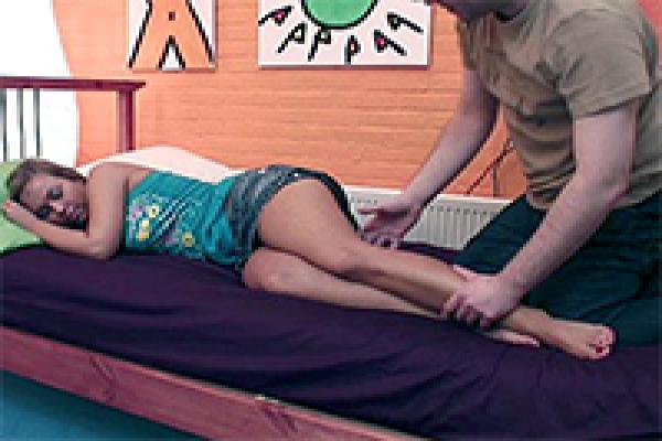 Sleeping girl gets unwanted sexual awakening fuqer video
