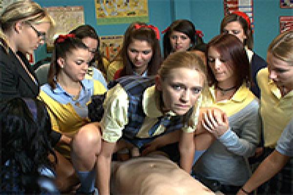 Slutty schoolgirl fucked in front of class schoolgirl porn